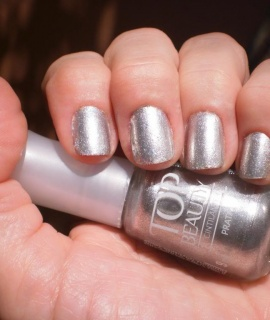 Esmaltes Top Beauty Prata