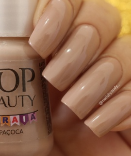 Esmaltes Top Beauty Paçoca