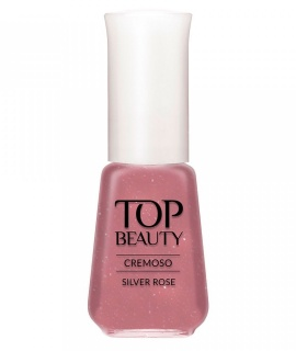 Esmaltes Top Beauty Silver Rose